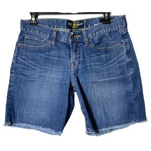 Lucky Brand Shorts Abbey Double Roll Med Blue 4/27